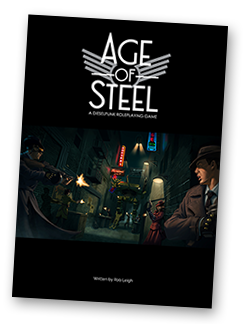 Age of Steel - A dieselpunk RPG